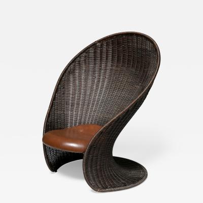 Giovanni Travasa Foglia Lounge Chair by Travasa for Bonacina