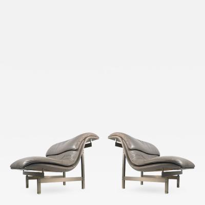 Giovanno Offreddi Wave Lounge Chairs by Giovanno Offreddi for Saporiti