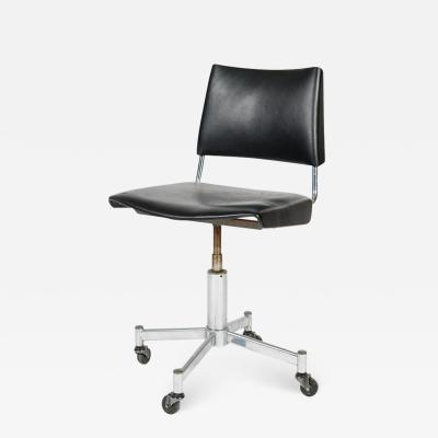 Giroflex office chair with leather 60s