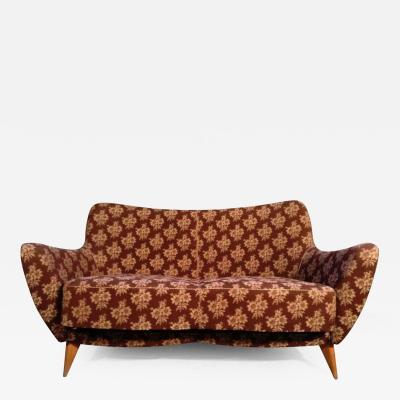 Giulia Veronesi 1950s Two Seater Sofa by Giulia Veronesi by ISA Ponte San Pietro