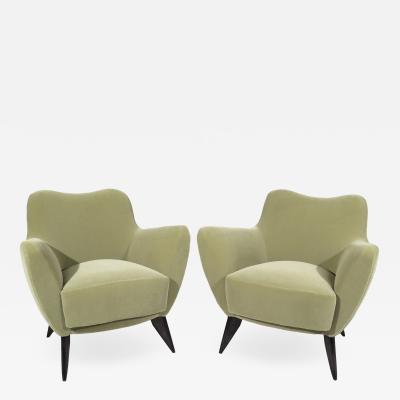 Giulia Veronesi Pair of Armchairs