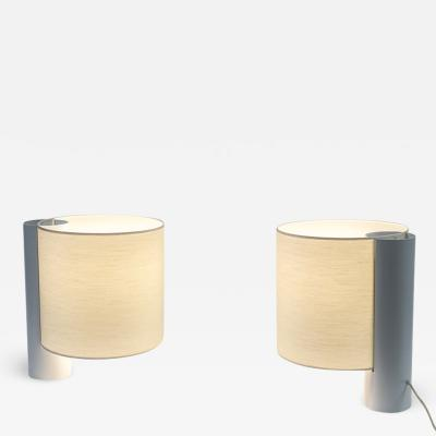 Giuliana Gramigna Pair of Large Flu Table Lamps for Quattrifolio 1976