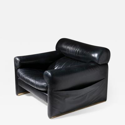 Giuliana Gramigna Smoking Lounge Chair by Mazza and Gramigna for Poltrona Frau