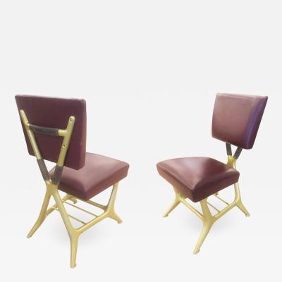 Giulio Minoletti Giulio Minoletti and Gio Ponti Chairs Six Available