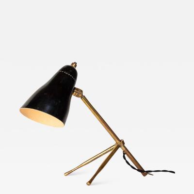 Giuseppe Ostuni 1950s Giuseppe Ostuni Ochetta Wall or Table Lamp for O Luce
