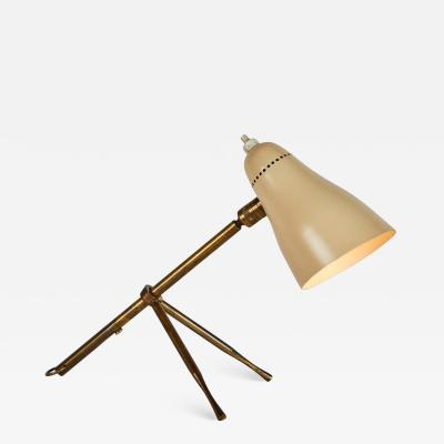 Giuseppe Ostuni 1950s Giuseppe Ostuni Ochetta Wall or Table Lamp for O Luce