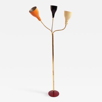 Giuseppe Ostuni Adjustable Floor Lamp by Giuseppe Ostuni for O Luce