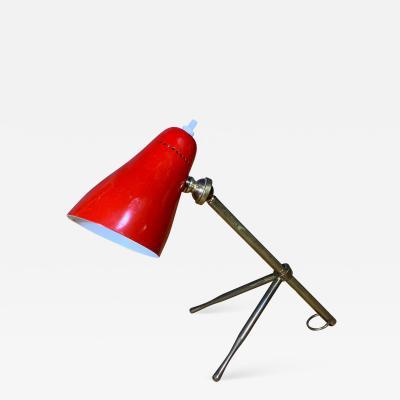 Giuseppe Ostuni Giuseppe Ostuni 1950s Ochetta Lamp for Oluce Italy