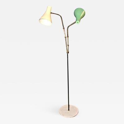 Giuseppe Ostuni Italian 1950s Floor Light by Giuseppe Ostuni