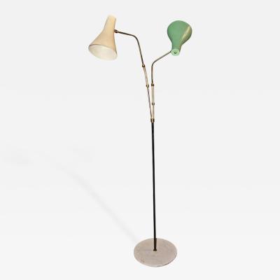 Giuseppe Ostuni Italian 1950s Floor Light by Guiseppe Ostuni
