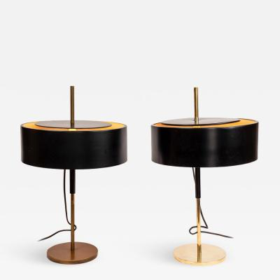 Giuseppe Ostuni Pair of 1950s Giuseppe Ostuni 243 Table Lamps for O Luce