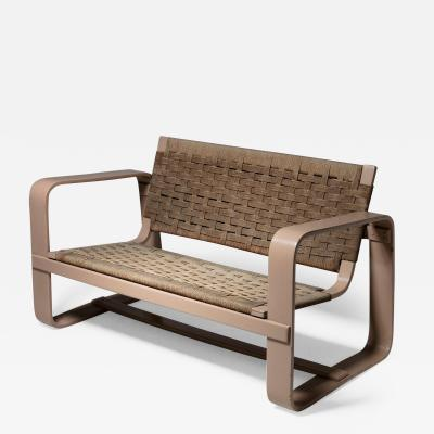 Giuseppe Pagano Pogatschnig Plywood Settee by Pagano for Maggioni