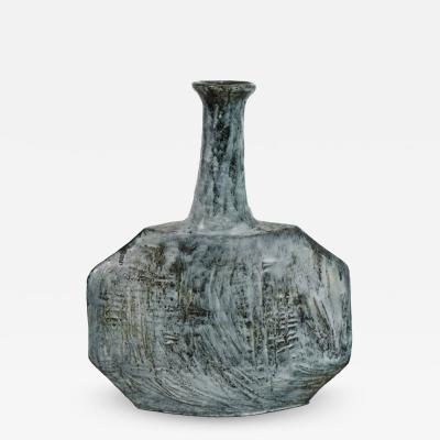 Giuseppe Rossicone Ceramic Vase by Giuseppe Rossicone circa 1960 Italy