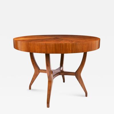Giuseppe Scapinelli Giuseppe Scapinelli Brazilian mid century Dining Table in Caviuna Wood