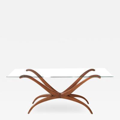 Giuseppe Scapinelli Giuseppi Scapinelli Sculptural 1950s Brazilian Spyder Table