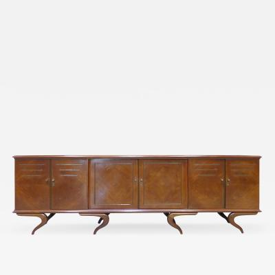 Giuseppe Scapinelli Monumental and Important Sculptural Credenza Giuseppe Scapinelli circa 1960