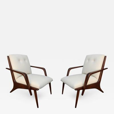 Giuseppe Scapinelli Pair of 1960s Scapinelli Brazilian Armchairs