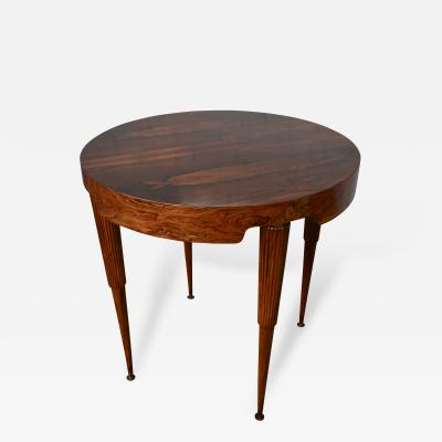 Giuseppe Scapinelli Scapinelli 1960s Brazilian Jacaranda Side or Center Table