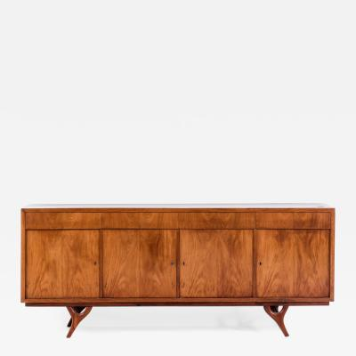 Giuseppe Scapinelli Sideboard in caviuna wood 1950s