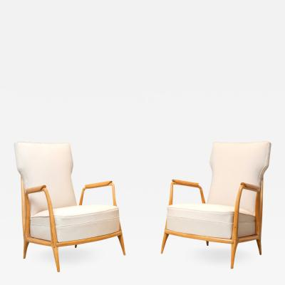 Giuseppe Scapinelli Vintage Caviuna Lounge Armchairs by Giuseppe Scapinelli