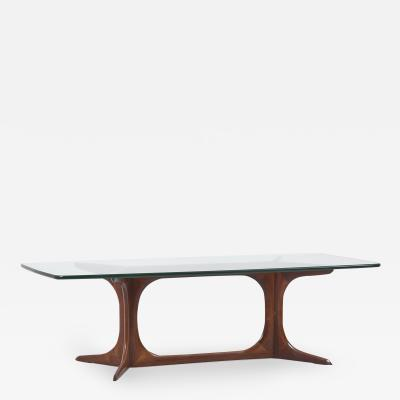 Glass Side or Coffee Table Denmark 1960s