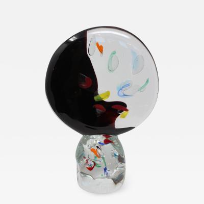 Glass Studio Murano Contemporary Disc in Murano glass