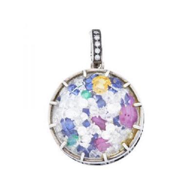 Glenn Bradford Fine Jewelry Bespoke Diamond Dust for Debbie