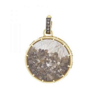 Glenn Bradford Fine Jewelry Brown White Diamond Dust
