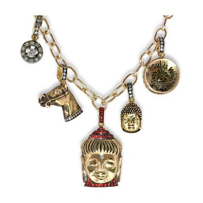 Glenn Bradford Fine Jewelry Cristina s Charm Necklace