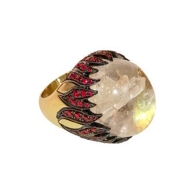 Glenn Bradford Fine Jewelry Fire Cocktail Ring I