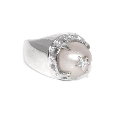 Glenn Bradford Fine Jewelry Rock Star Pearl Ring
