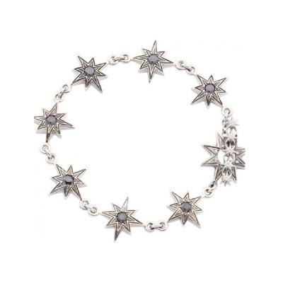 Glenn Bradford Fine Jewelry Sunburst Charm Bracelet