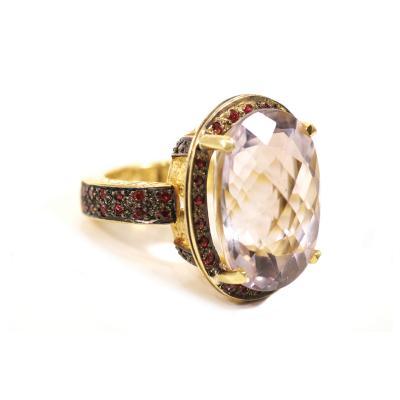 Glenn Bradford Fine Jewelry The Royal Jewel Cocktail Ring