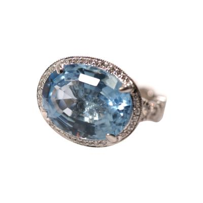 Glenn Bradford Fine Jewelry The Stacey H Cocktail Ring