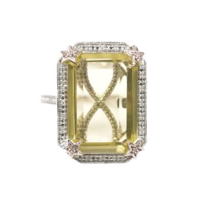 Glenn Bradford Fine Jewelry The Tayler Citrine