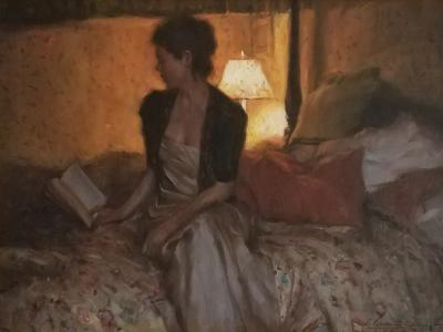 Glenn Harrington Lady Reading