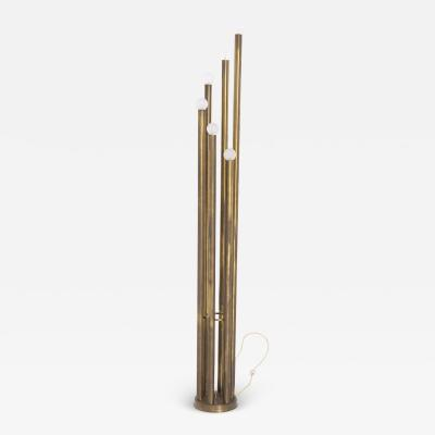 Goffredo Reggiani Rare Floor Lamp in Brass prod Goffredo Reggiani 1960s