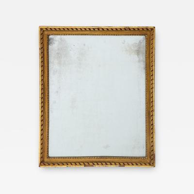 Gold English Mirror