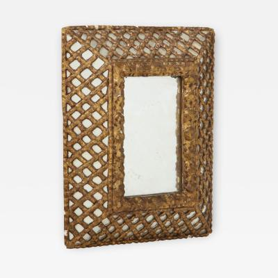 Gold Indian Mirror