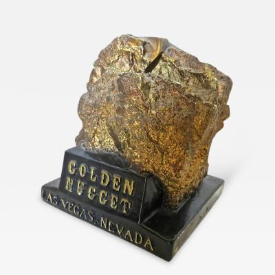Golden Nugget Las Vegas Nevada Still Bank Circa 1950