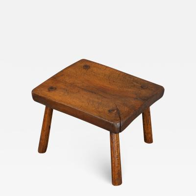 Good 19th Century Slab Stool