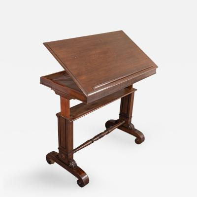Good Late Regency Architects Drafting Table
