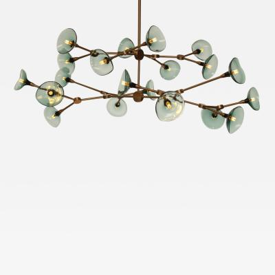 Gordon Auchincloss The Olivia 20 chandelier An adjustable dimmable LED fixture