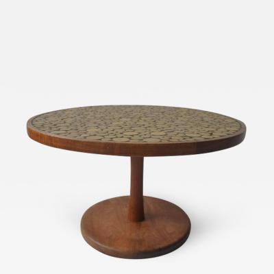 Gordon Jane Martz Ceramic Tile Top Coffee Table by Gordon and Jane Martz
