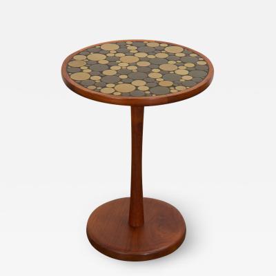 Gordon Jane Martz Martz Coin Tile Side Table