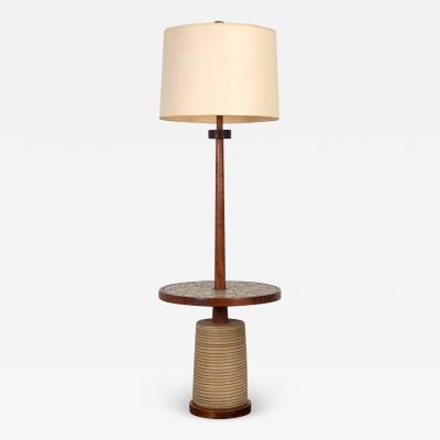 Gordon Jane Martz Martz Floor Lamp with Table Base