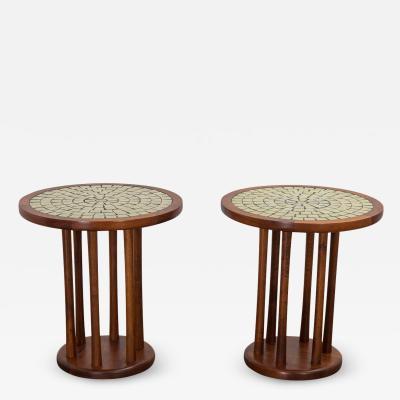 Gordon Jane Martz Martz Spindle Side Tables