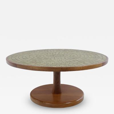 Gordon Jane Martz Mid Century Modern Pedestal Table by Gordon Jane Martz for Marshall Studios
