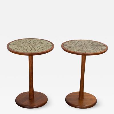 Gordon Jane Martz Pair of Martz Tile Tables