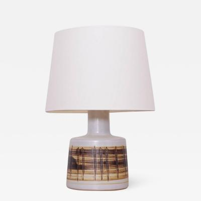 Gordon Martz Stoneware Table Lamp Gordon Martz Marshall Studios Inc n 105 Brown White